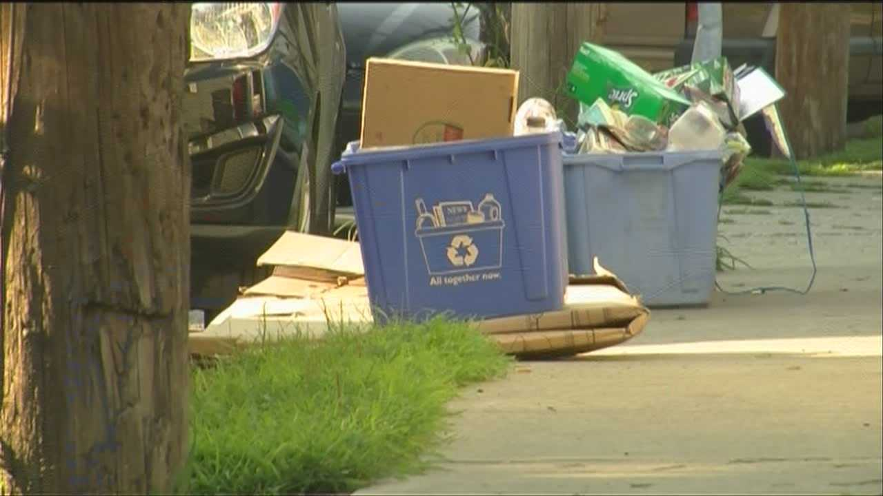 Too much recycling in Burlington?