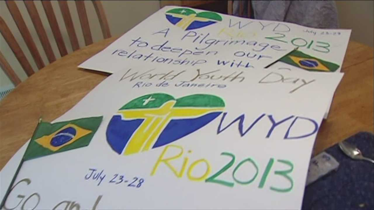 Ahead of Pope Francis visit, Catholic teens travel to Brazil