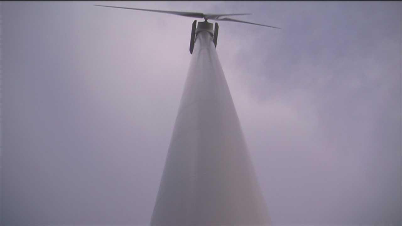 Wind turbine creating headaches, neighbor says