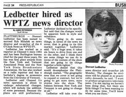 During the 90s I was Channel 5's News Director...
