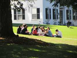 Dartmouth is the smallest college in the Ivy League with only 6,144 enrolled students.