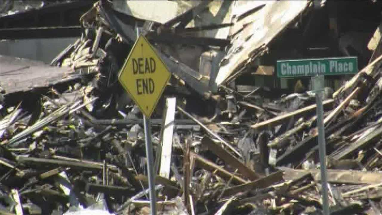 Winooski neighborhood cleans up after fire displaces 4
