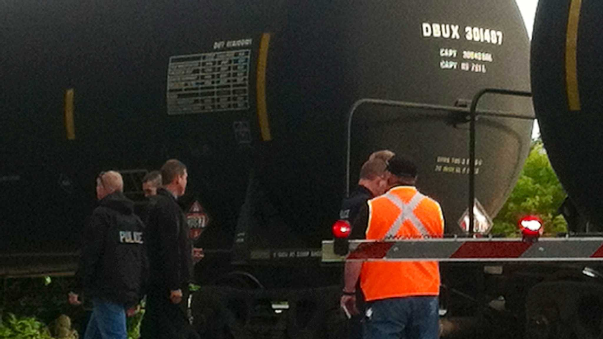 Woman struck and killed by train - img
