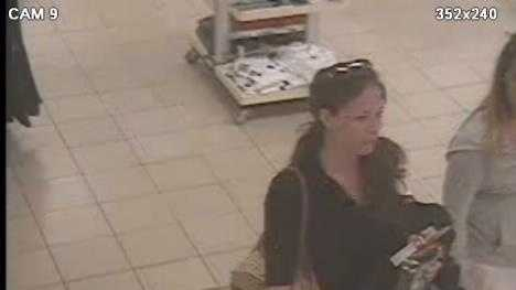 08-14-13 Police looking for woman in Sears attempted theft - img