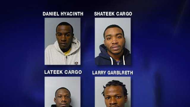 4 sentenced in Burlington counterfeiting case