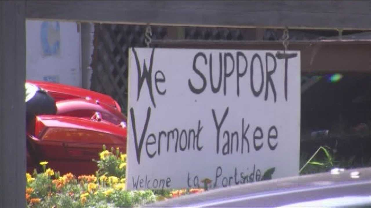 Vernon reacts to Vermont Yankee closing