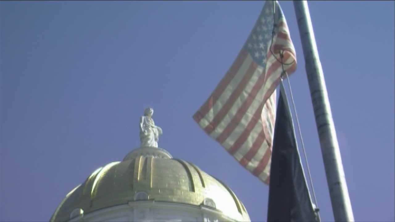Hemp flag raised over capital