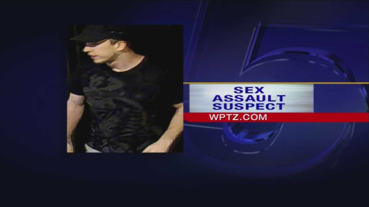 Suspect wanted for college sexual assault