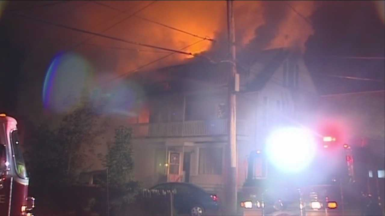 Community helps victims of apartment building fire