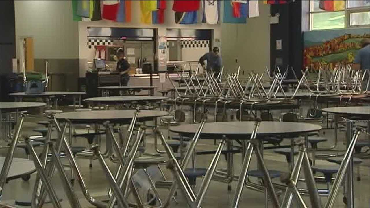 School lunches could be affected by shutdown