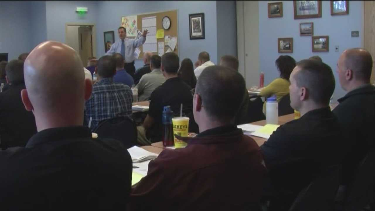 Officers learn about police PTSD