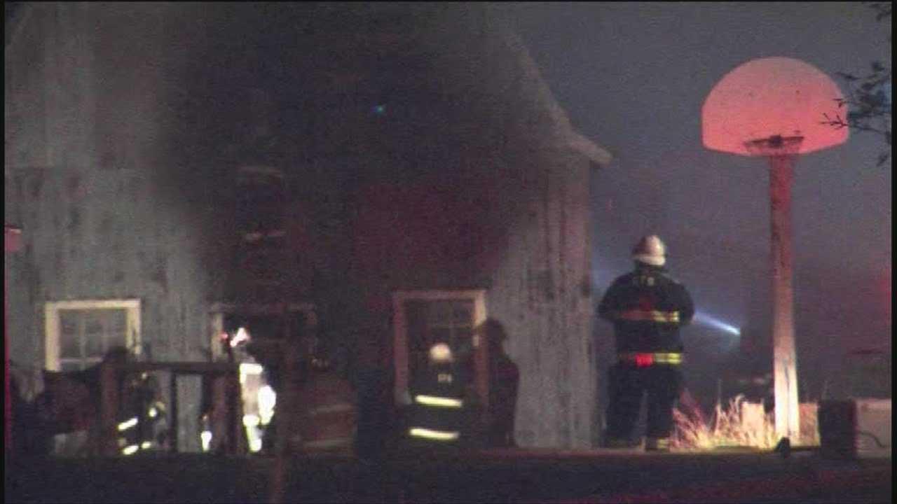 Haunted barn burns