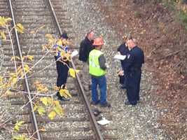 Vermont State Police have confirmed that a pedestrian has been struck and killed by a train in Waterbury.