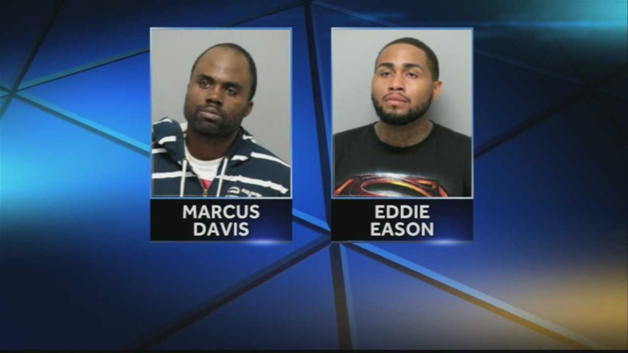 2 arrested in large drug bust