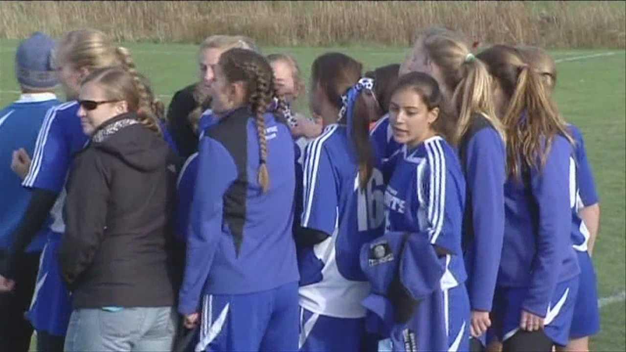Girl's High School Playoff Soccer