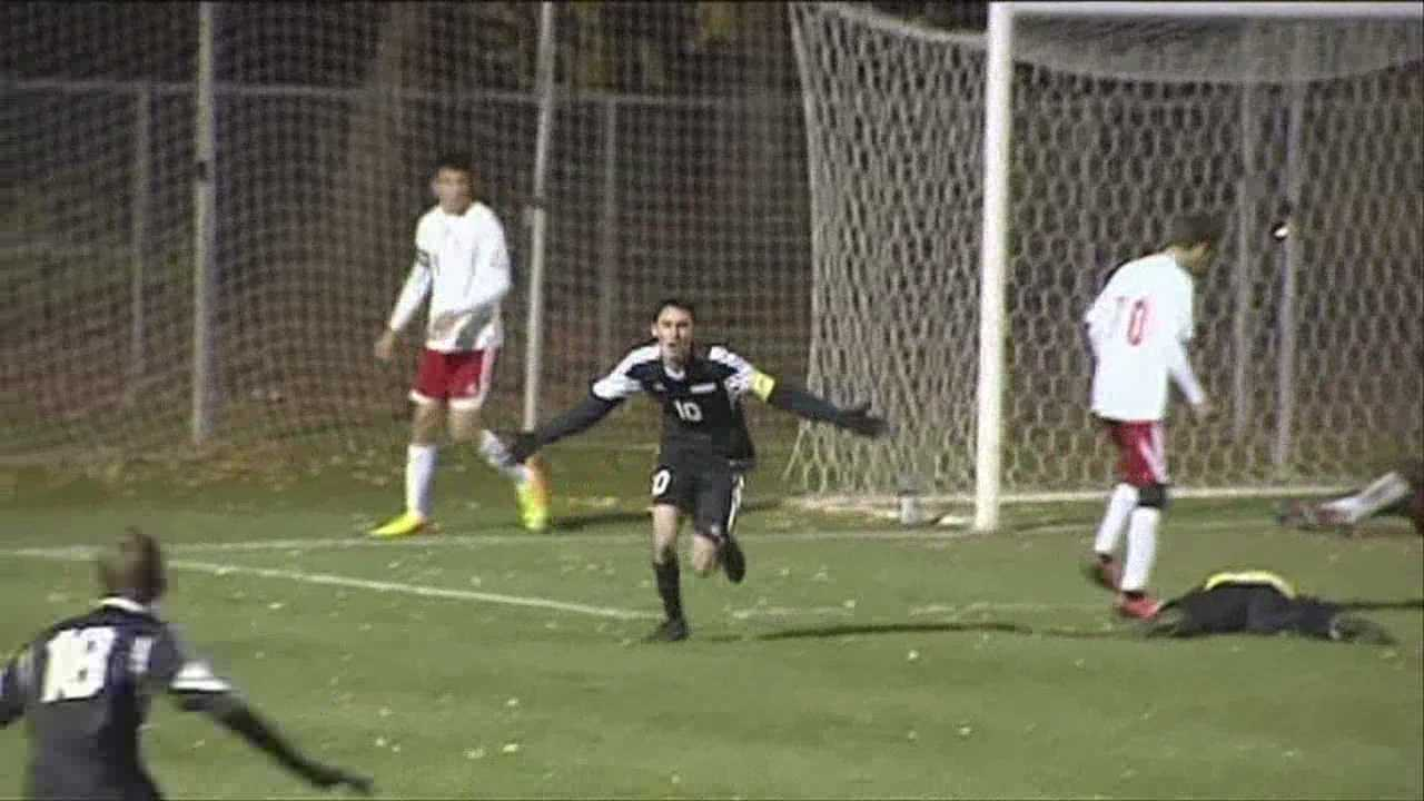 "Division 1's football post-season, and the class ""B"", and ""C"" soccer playoff game highlights."