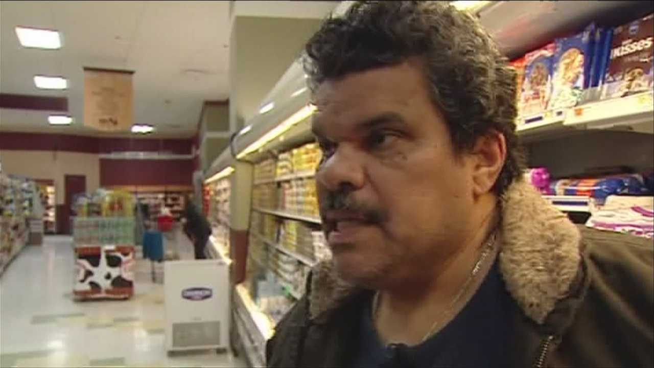 Hollywood actor Luis Guzman highlights hunger concerns nationwide.
