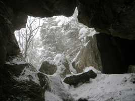 Wamphahoofus Cave at Mount Mansfield, Vt.