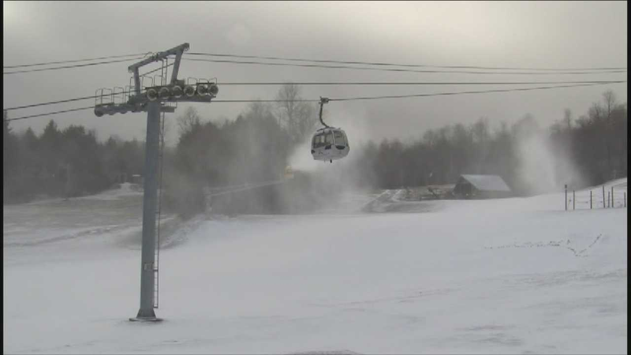 Low temps and snow making machines speeding up preparation
