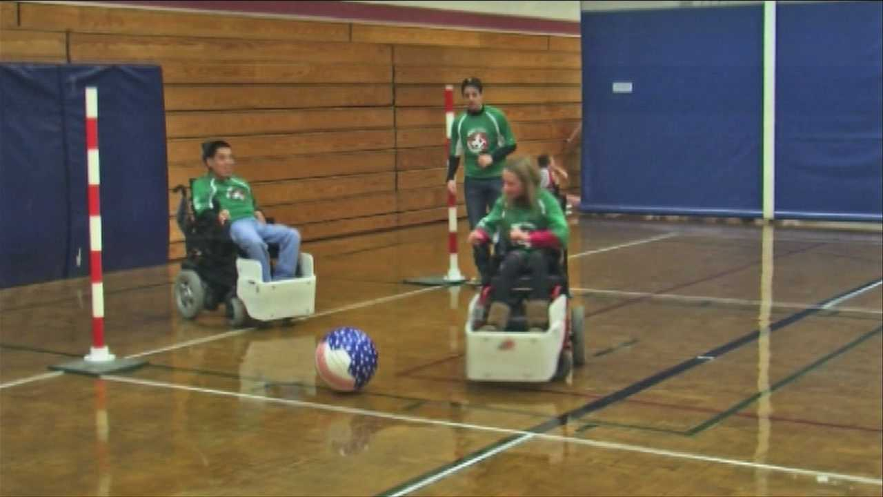 Power wheel chair soccer comes to Upper Valley - img