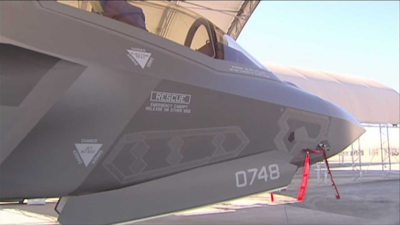 12-3-13 F-35 Opponents Vow to Fight - img