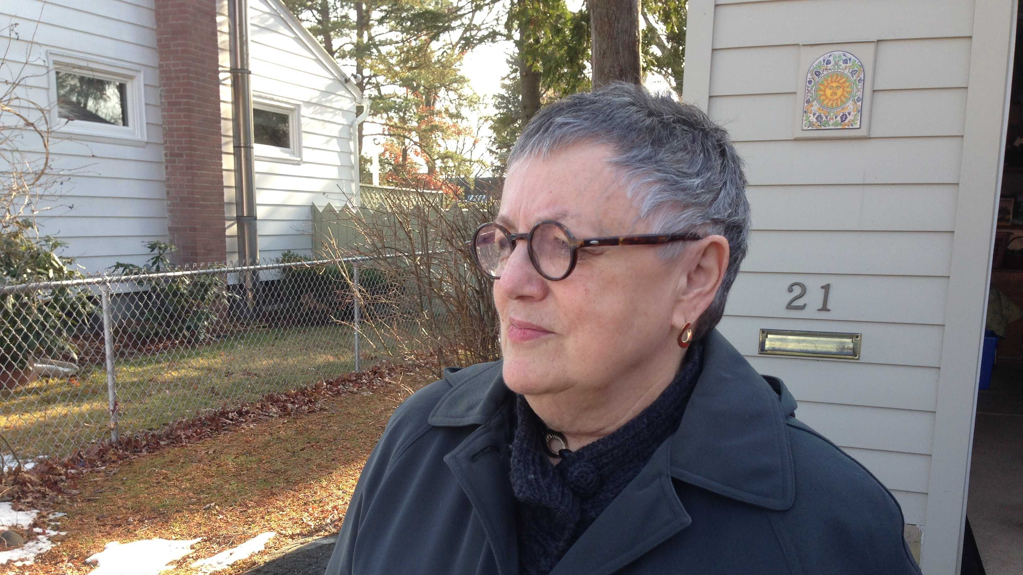 Carmine Sargent moved to her home on Elizabeth St. in South Burlington in 1972.