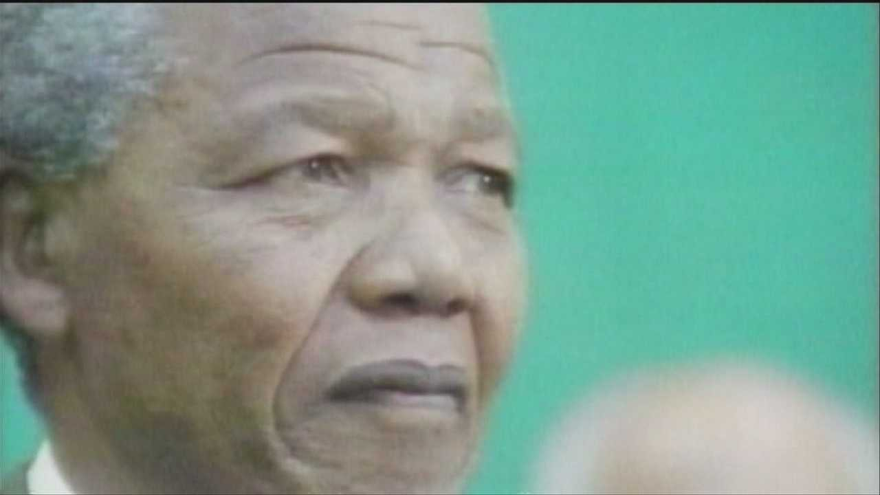 Local man remembers meeting Mandela