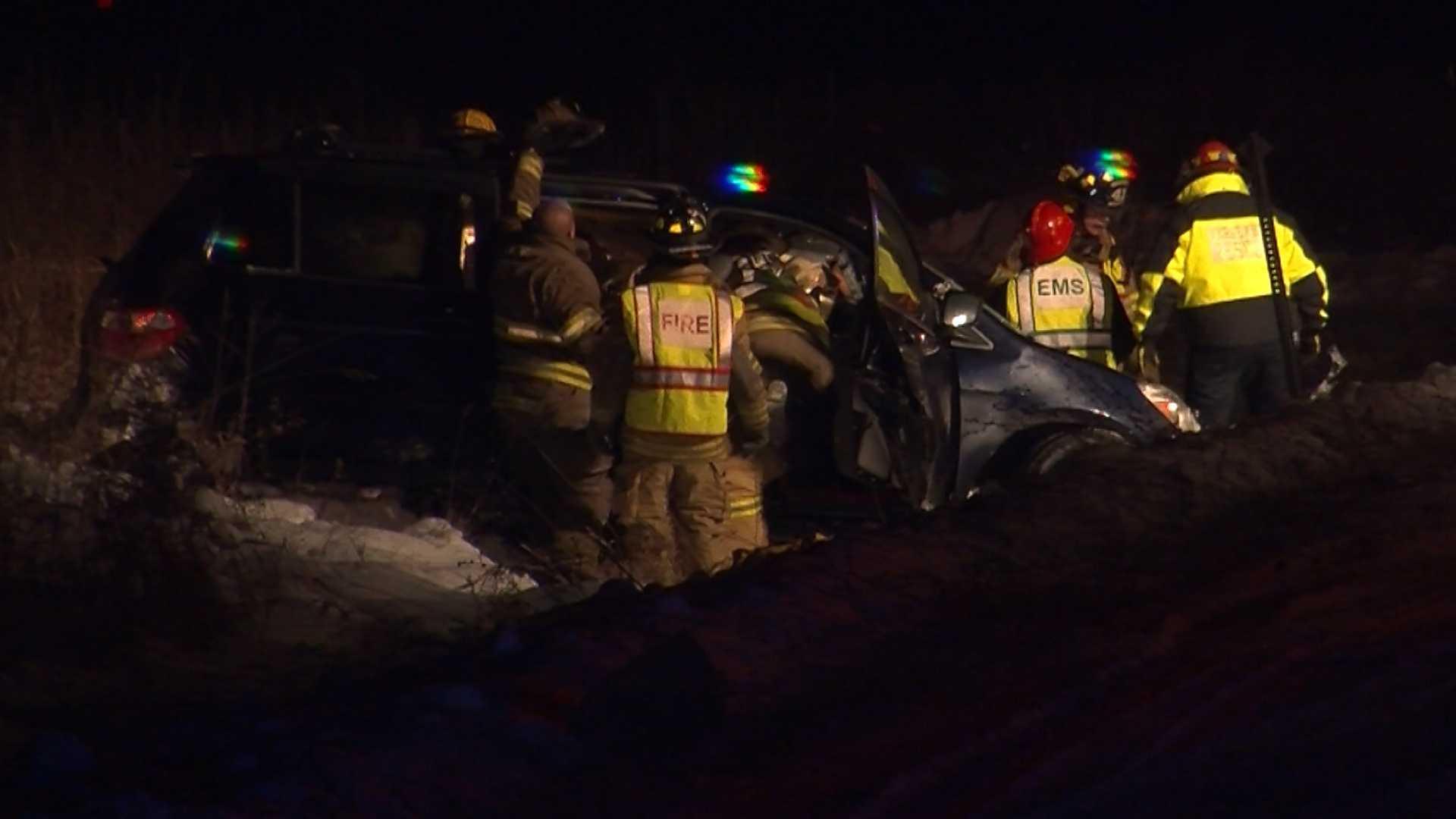 WPTZ Man killed in Addison car crash 12-17 - img