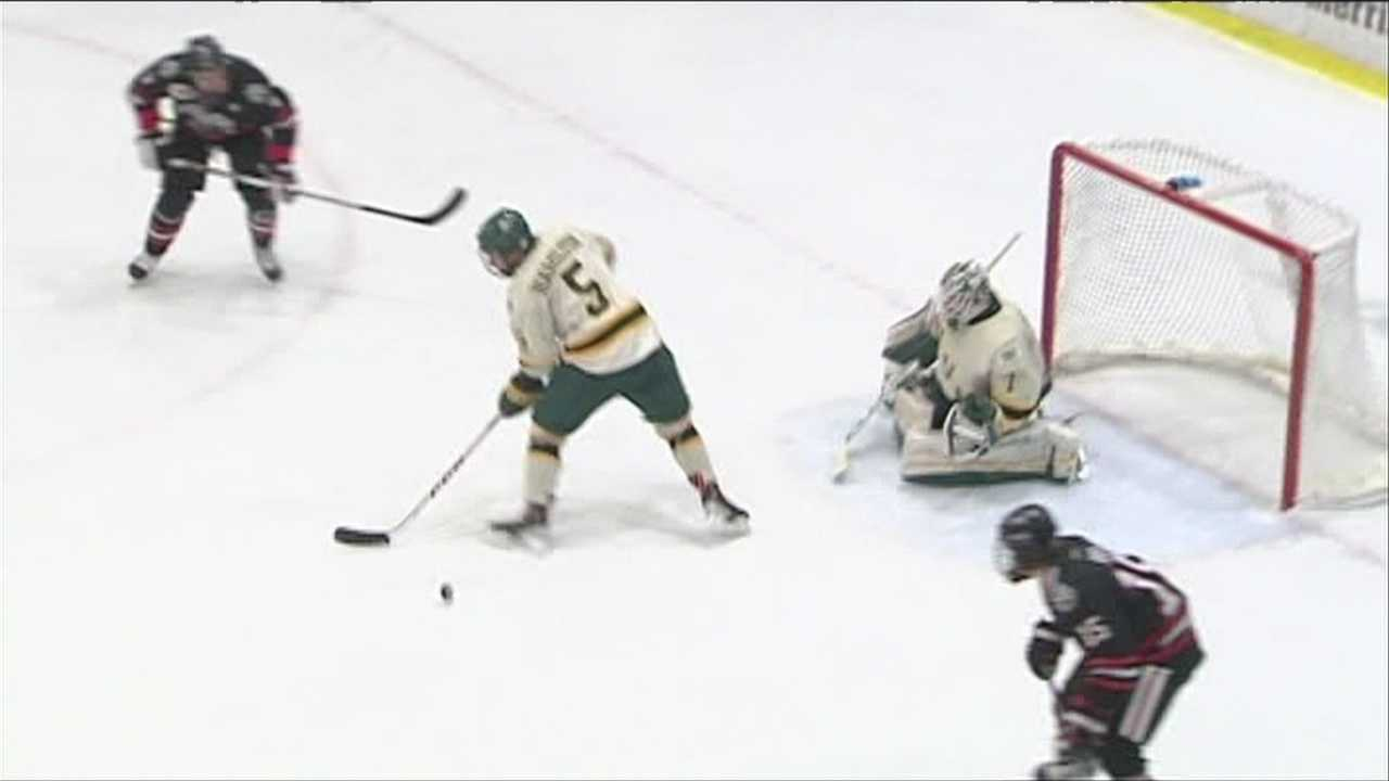 Vermont men's hockey loses for the first time in 6 games.