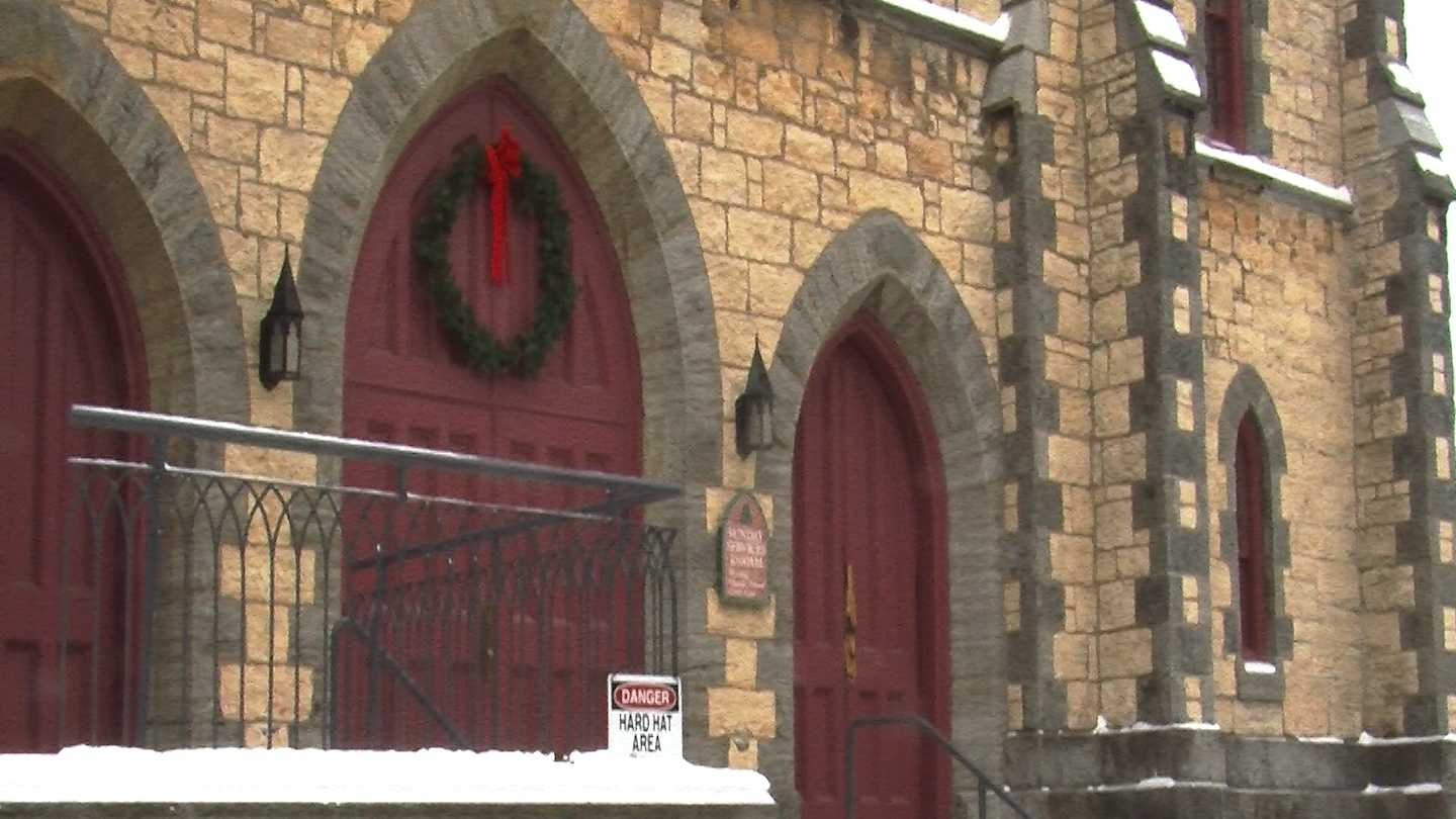 Church leaders are looking on the bright side, after arson badly damaged their place of worship.