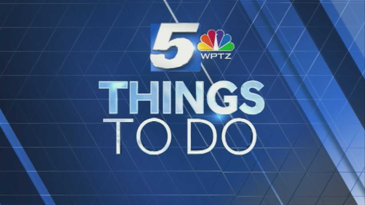 A candy cane demonstration? I want to see that. Tom Messner has your Things to do today.
