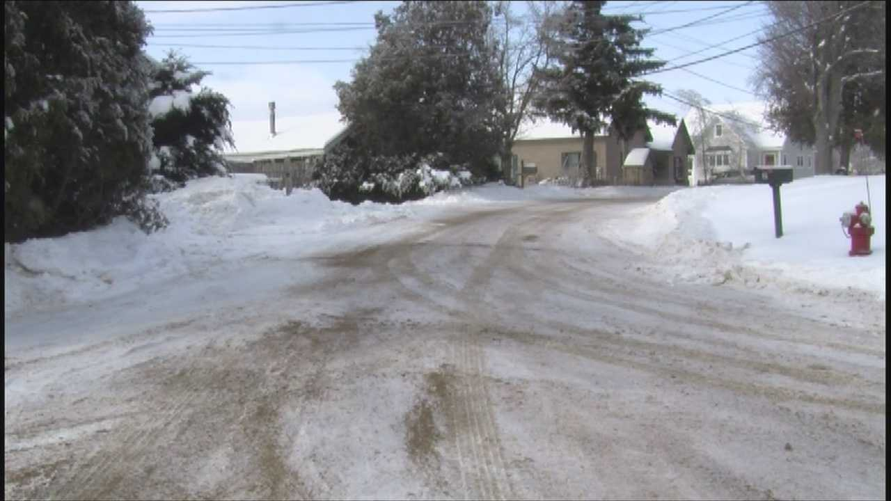 Side roads remain in rough shape