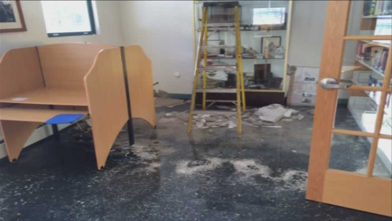 Historical items destroyed at Killington Library