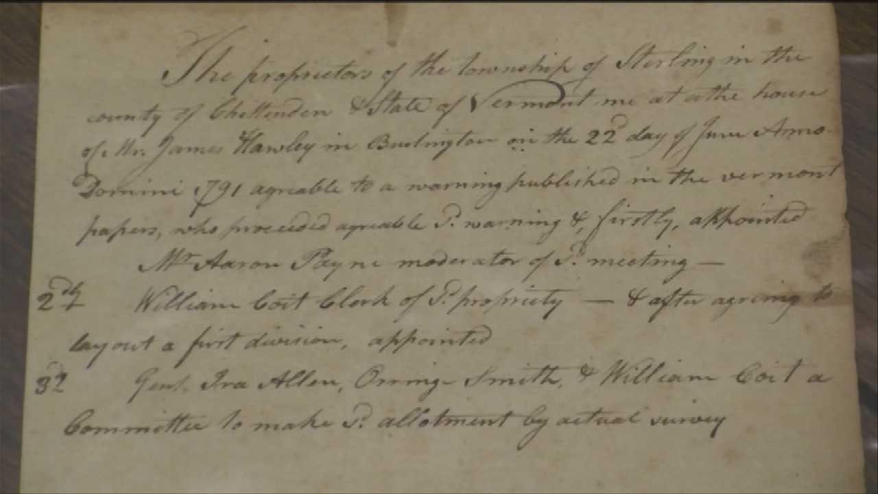Rare paper with historic signature stolen, returned