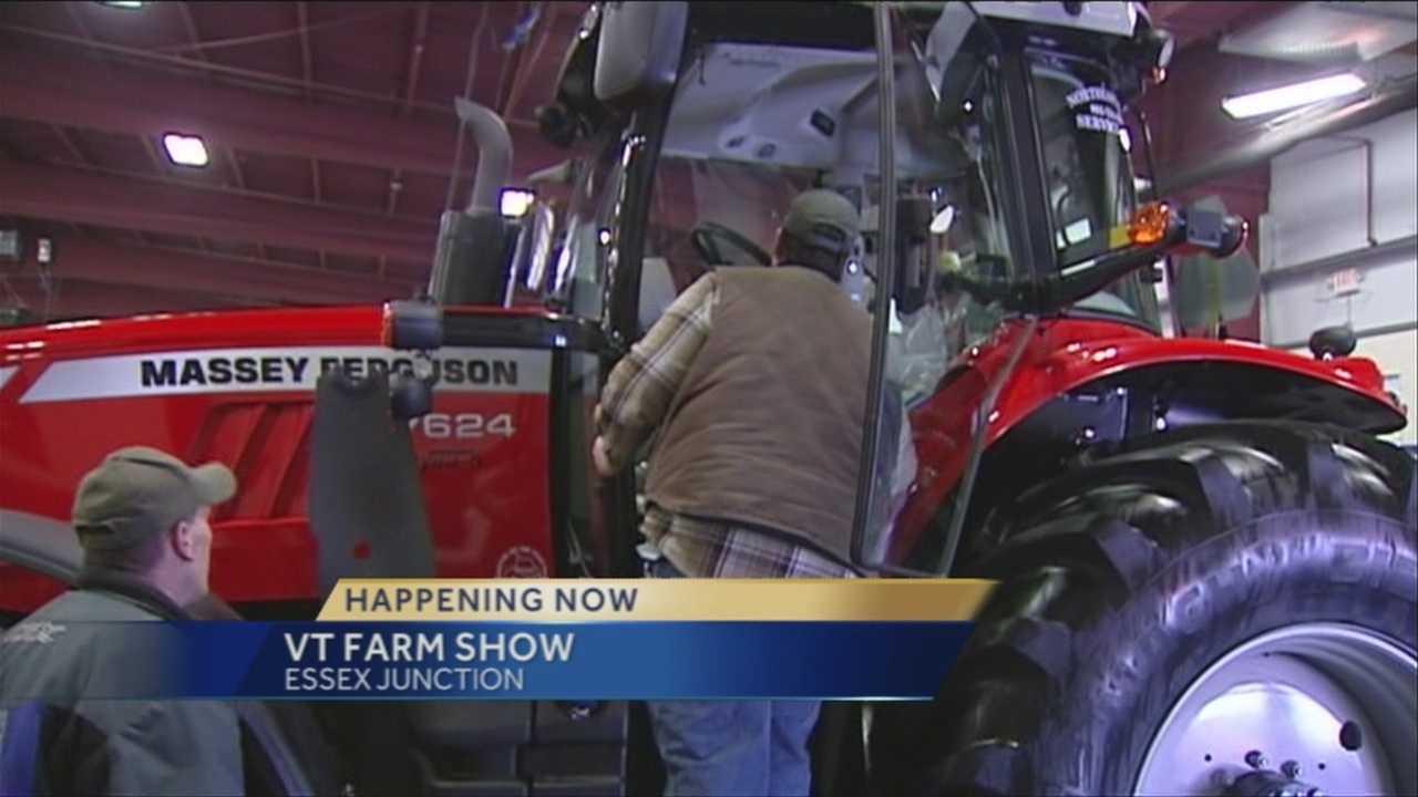 Vermont Farm Show underway