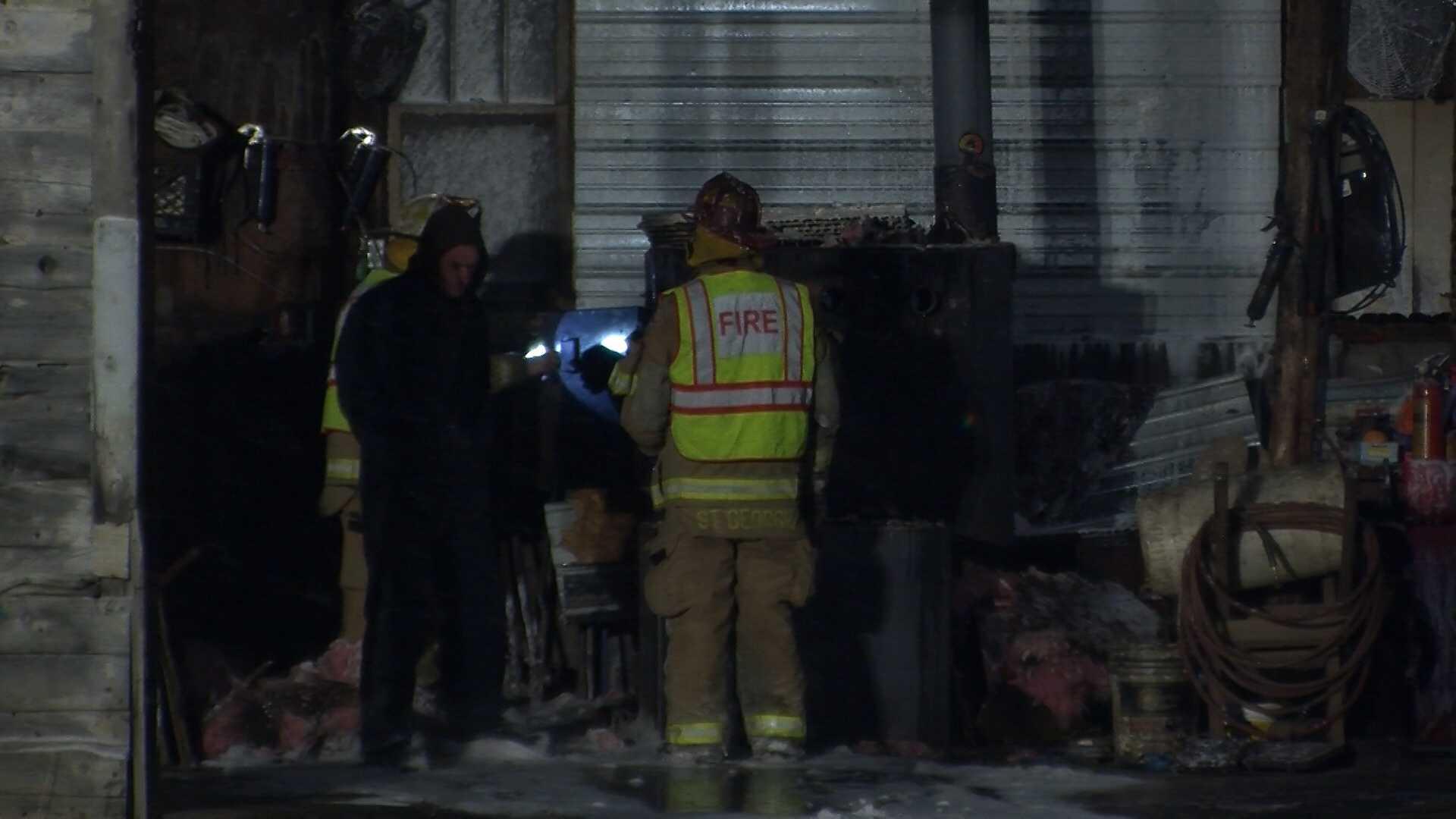 2-5-14 Town garage fire - img