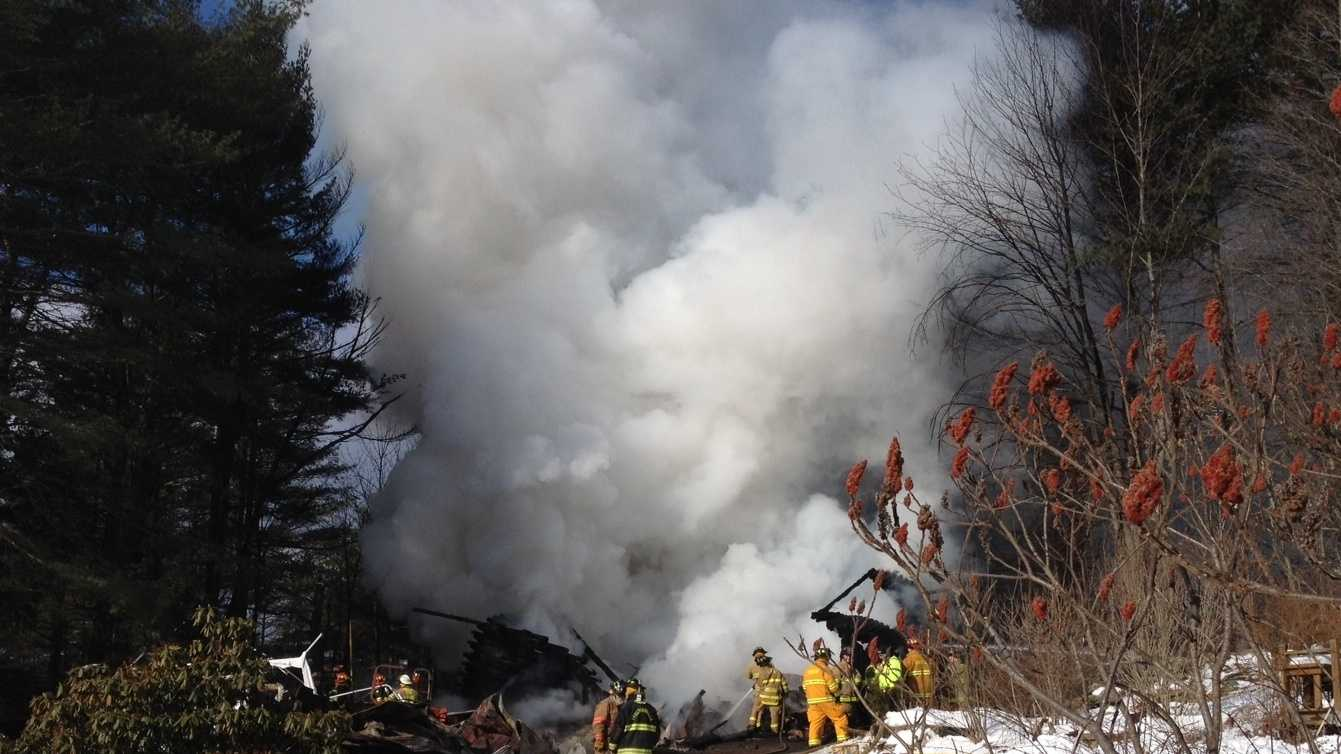 2-9-14 Fire destroys family home - img