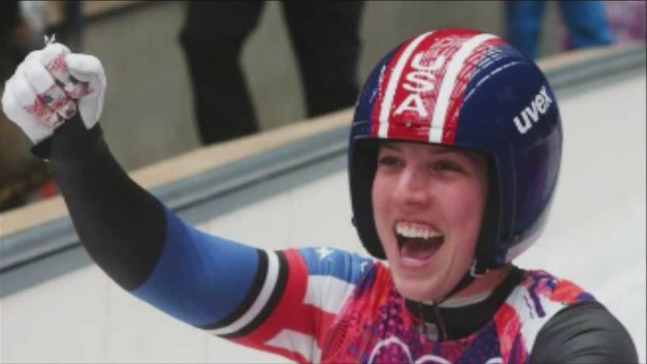American luger Erin Hamlin makes history