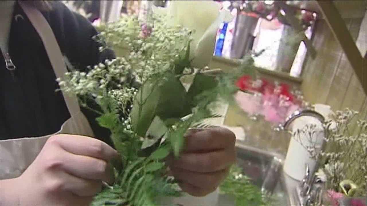 Snowy flower sales
