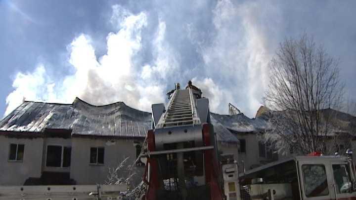 Firefighters contain ski resort blaze 2-17 - img