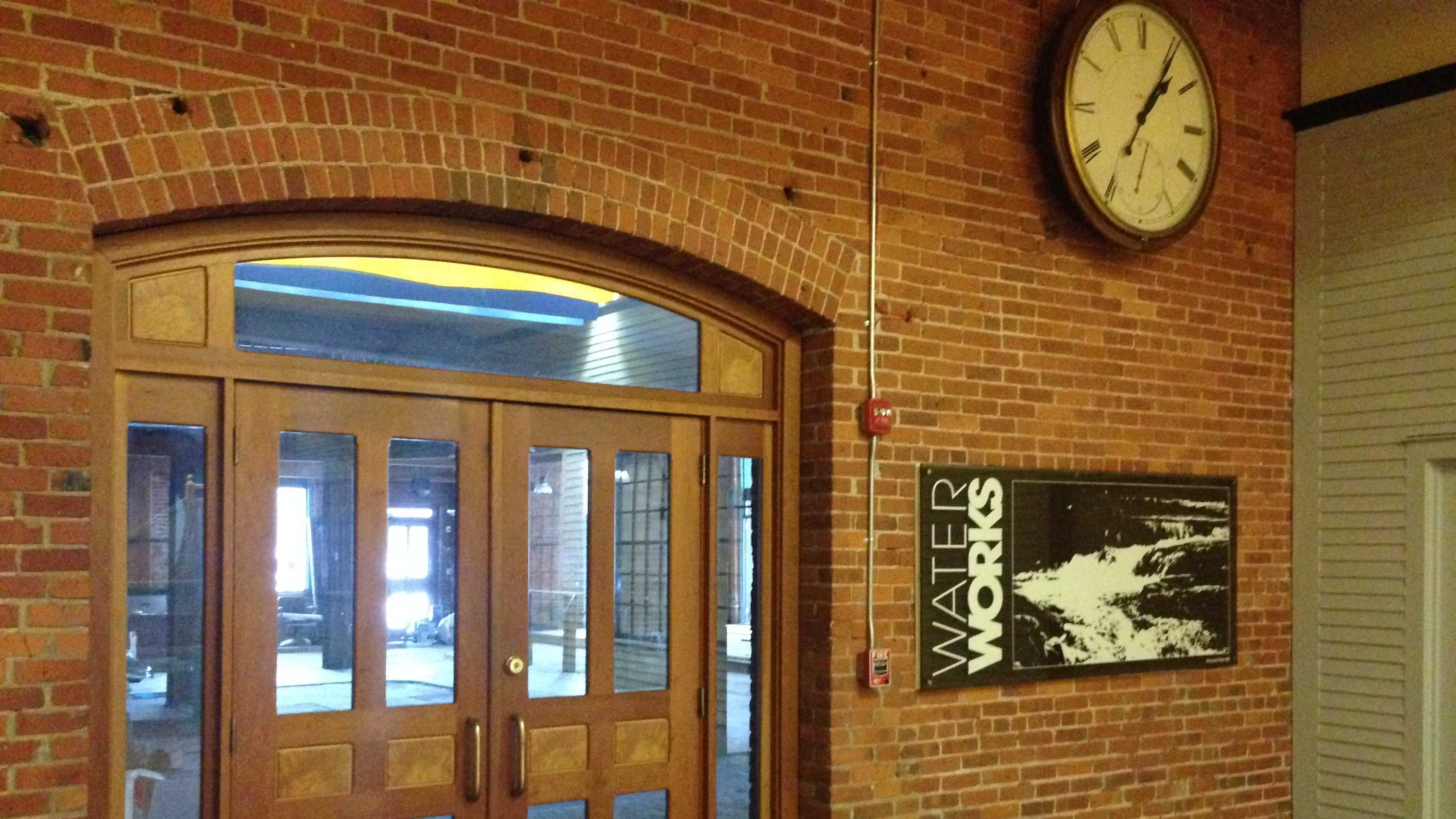 The interior Champlain Mill entrance to the restaurant is largely unchanged since its opening in 1981.