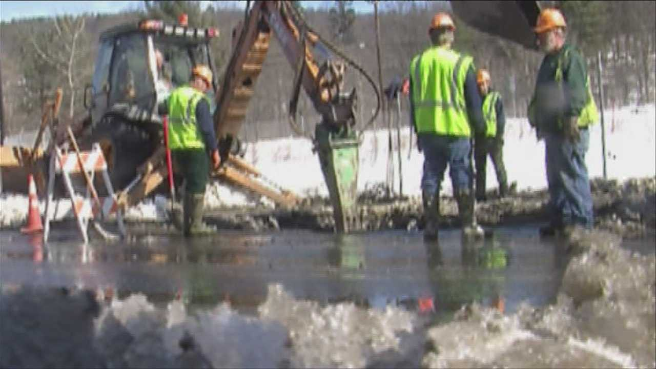 Frozen ground causes trouble for city's waterlines
