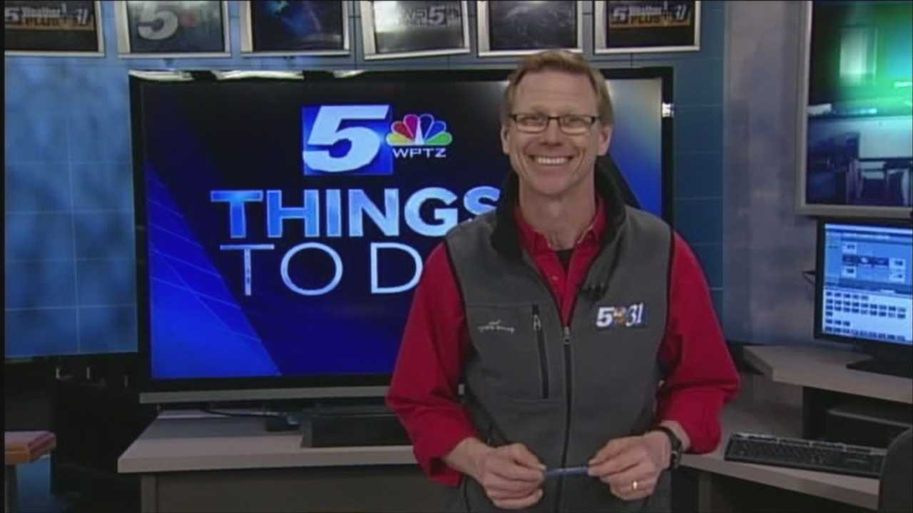 WPTZ's Tom Messner has a look at your Sunday things to do:
