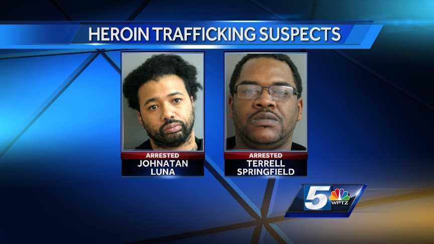 2-25-14 2 NYC men arrested on drug charges in Vt. - mugs