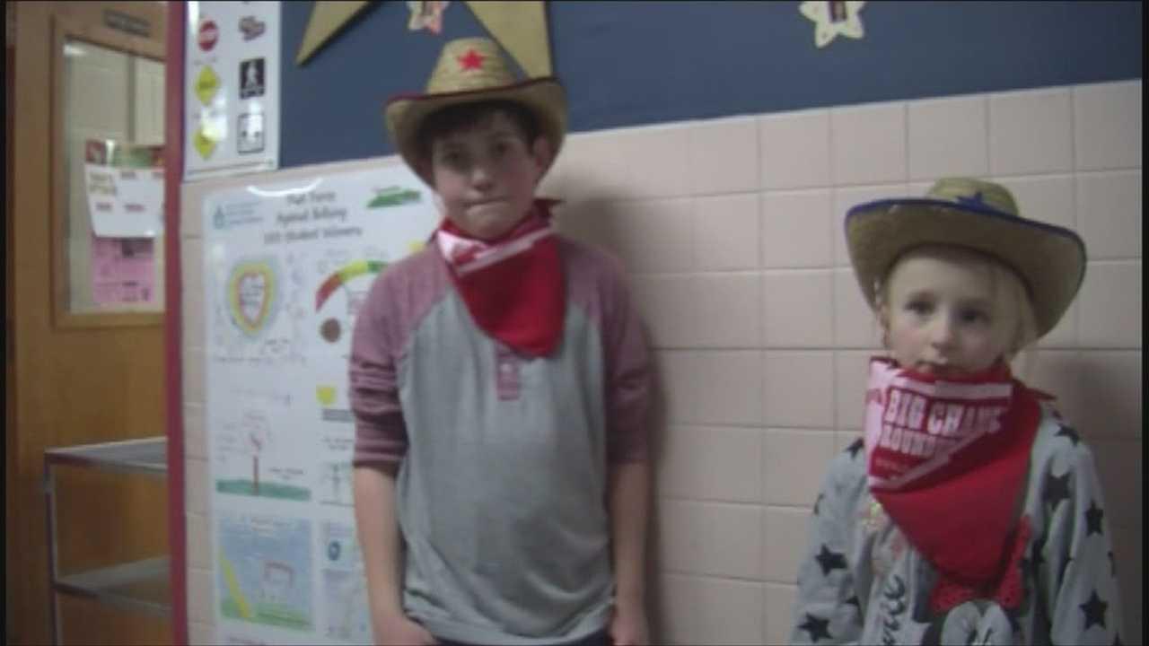 Elementary school exceeds fundraising goal