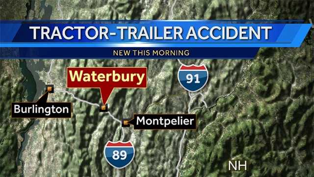 Wrong-way driver hits tractor trailer on Interstate 89, police say