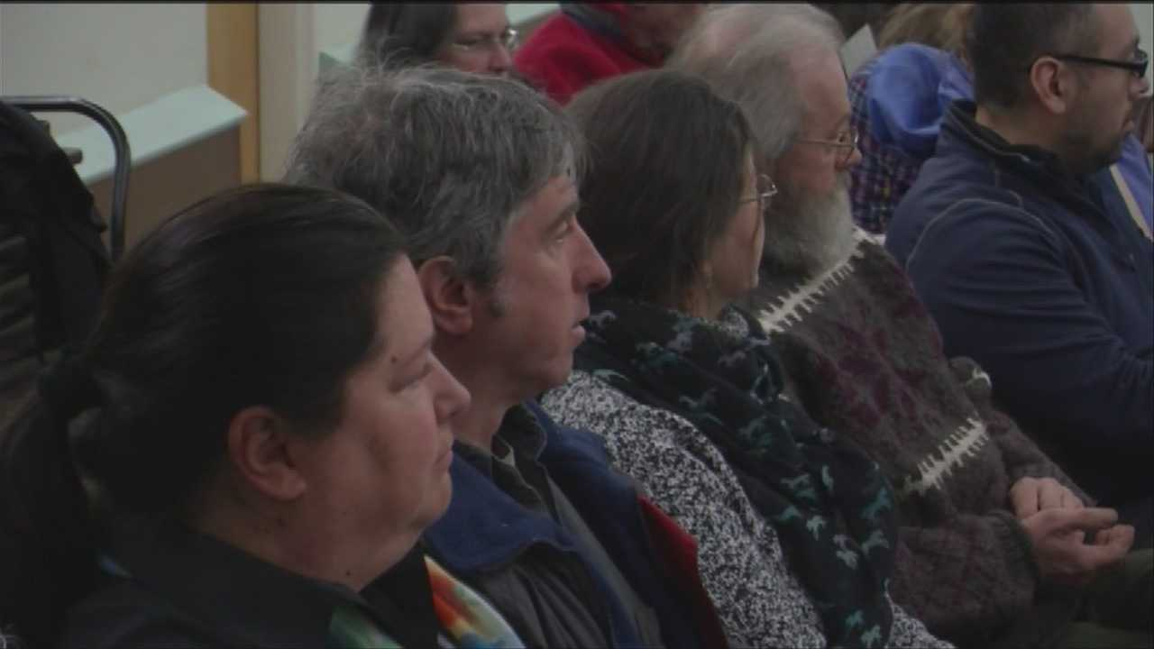 Neighbors living next to what is soon to be a natural gas pipeline from Colchester to Middlebury asked questions about eminent domain at a forum with the state's Public Service Department.