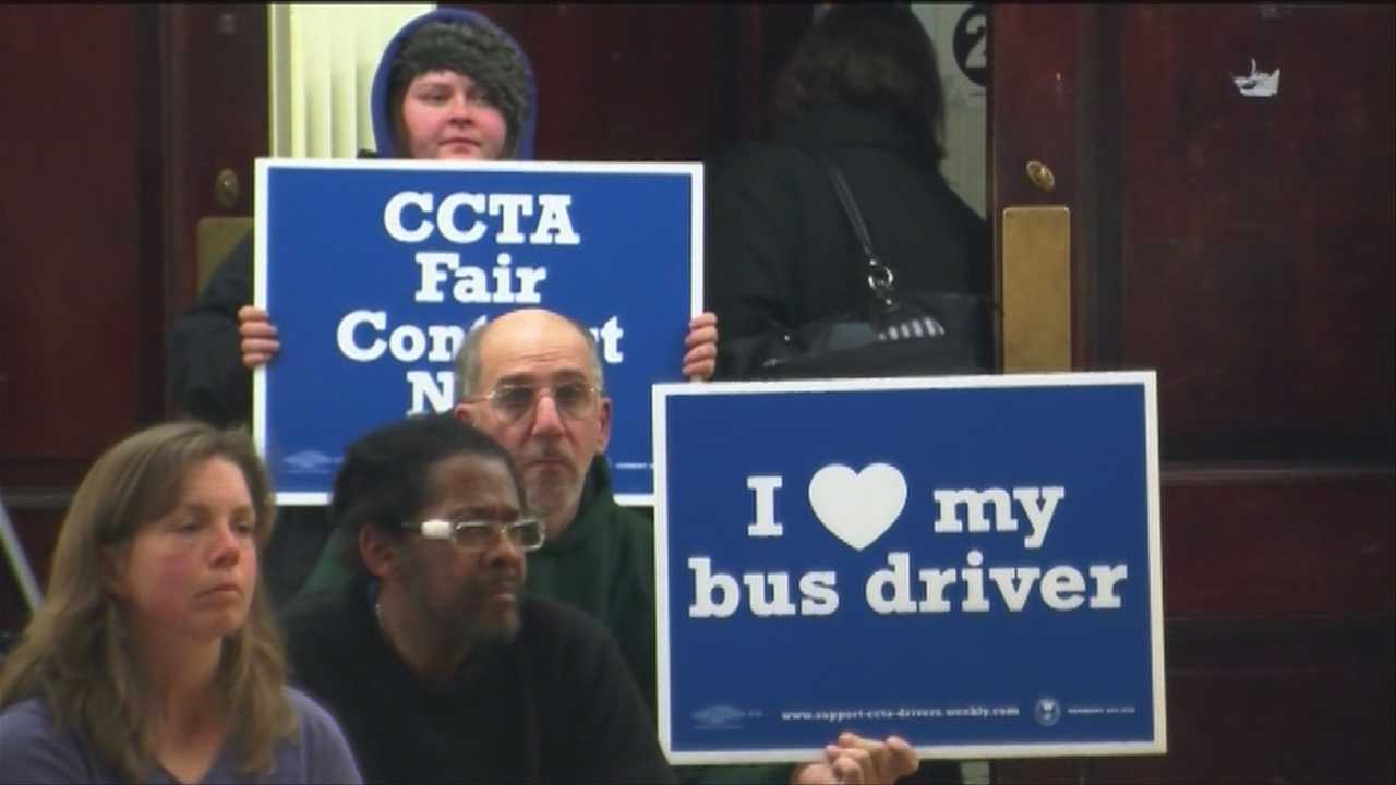 Burlington students say they stand behind CCTA drivers
