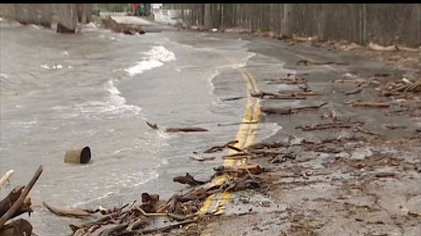 National Weather Service to assess flood potential post-storm