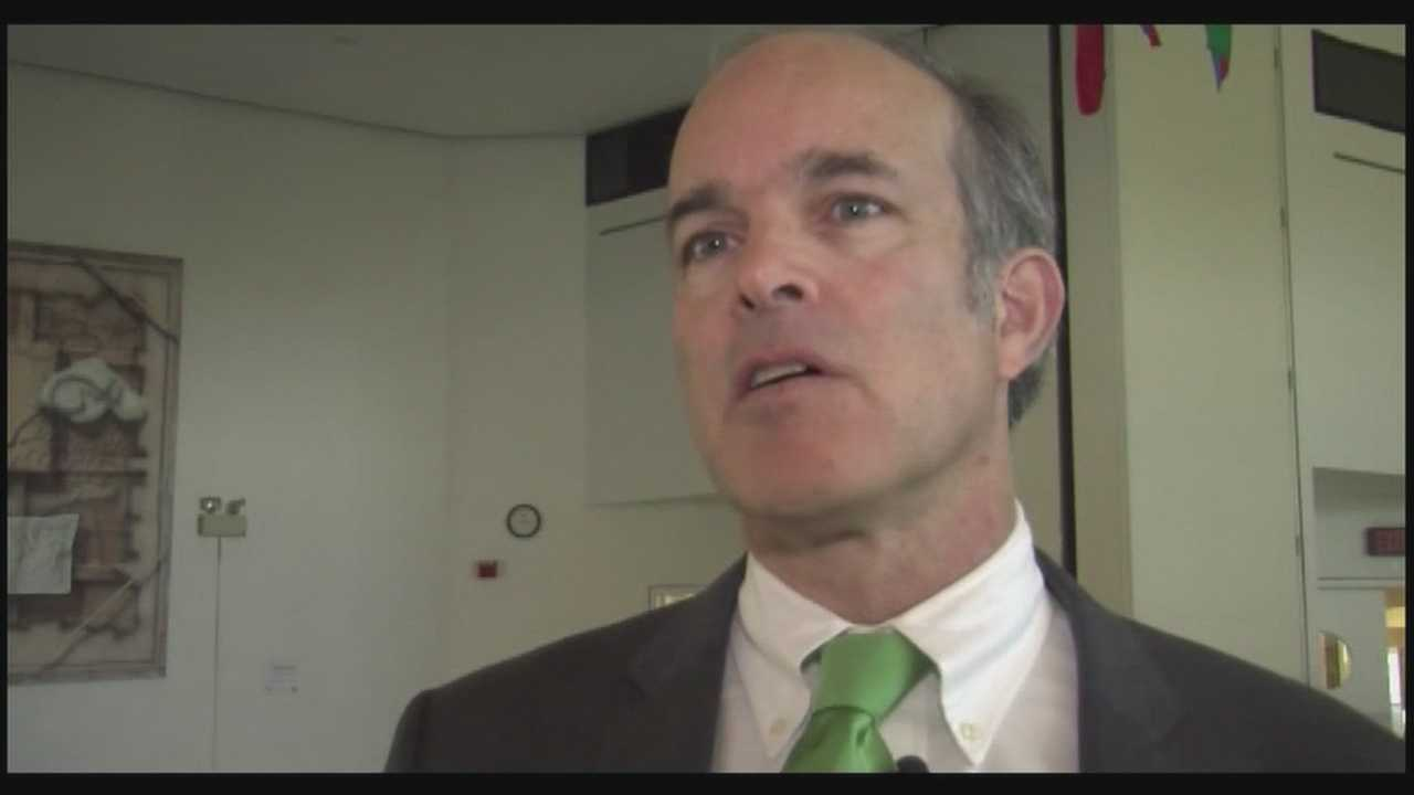 Democratic congressional candidate makes St. Patrick's Day appearance